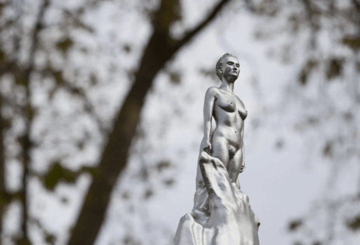 The World Got Its First Memorial to Feminist Giant Mary Wollstonecraft … and It's a Tiny Female Nude