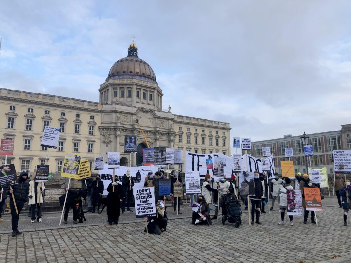 Artists and Cultural Workers Oppose Humboldt Forum Opening, Citing Colonial Ties