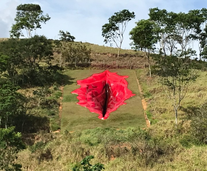 A Public Vulva Sculpture in Brazil Protests Violence Against Women