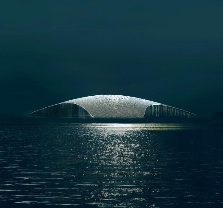 A Sleek, Whale-shaped Observatory to Watch Marine Life