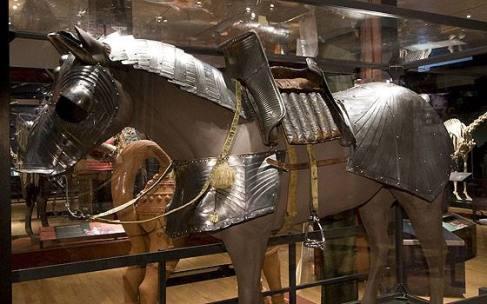 cavallo bardato bravante