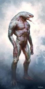 ageofconan_character_monster_snake_man_by_fang_wang_lin