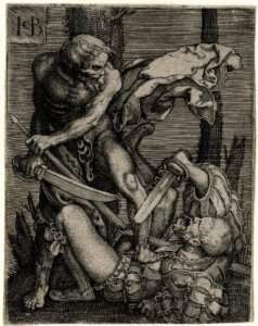 Death-killing-a-soldier-Jacob-Binck-1520-1561