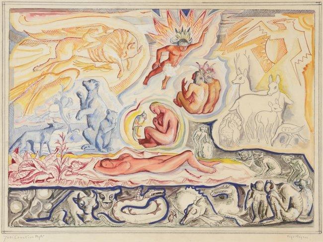 lloyd-r-moylan-1893-1963-zuni-creation-myth