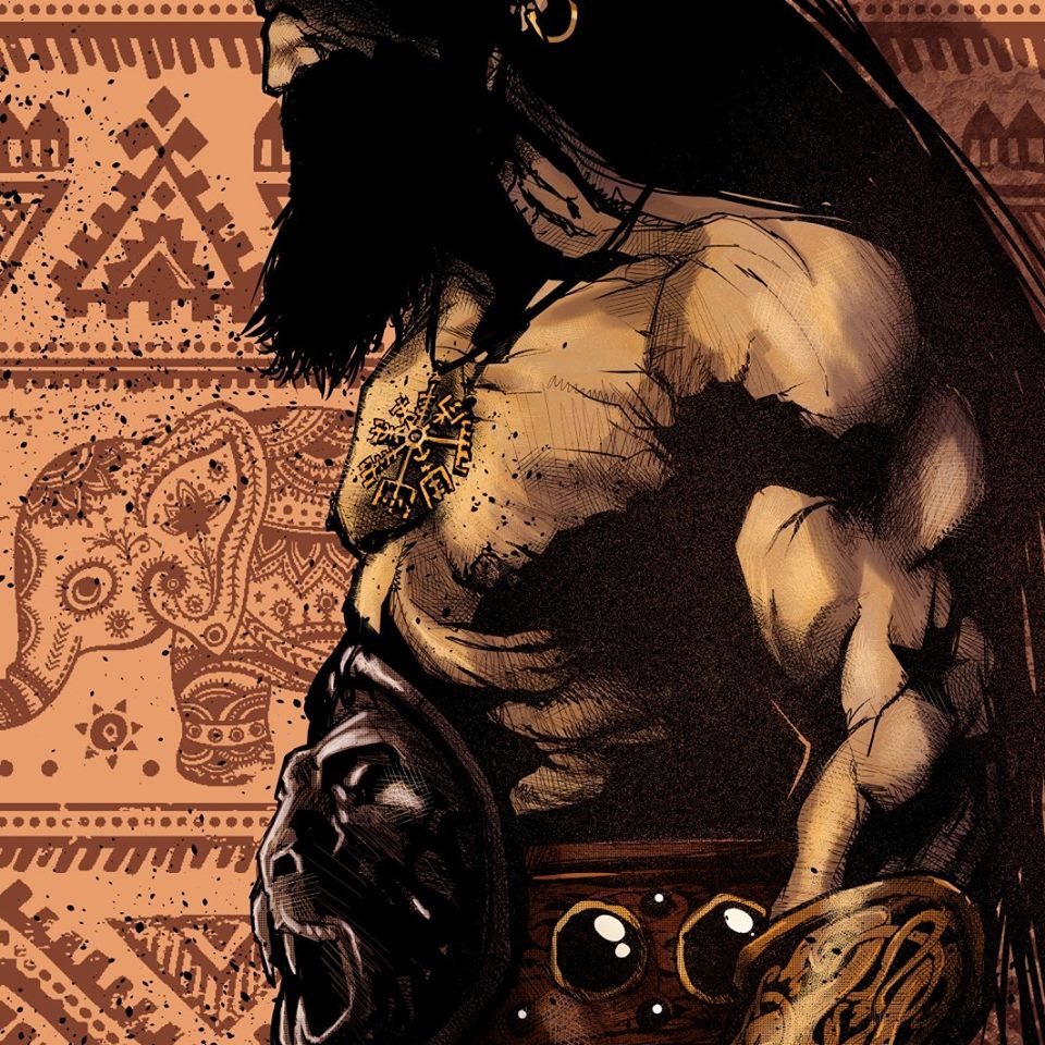 RE CONAN – il RE CIMMERO Weird Book - Intervista a Massimo Rosi