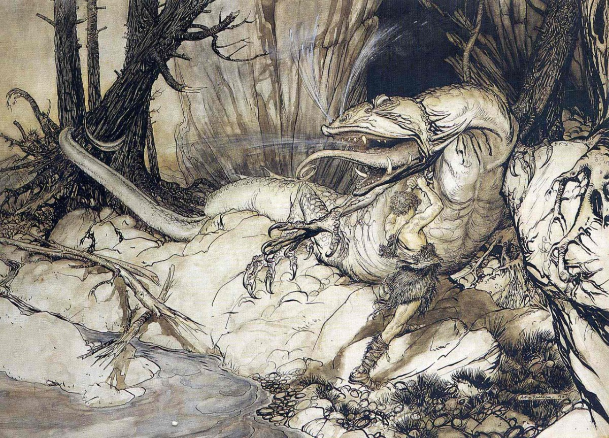 Spada, Stregoneria e Arte - Arthur Rackham