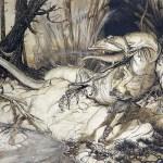 Spada, Stregoneria e Arte – Arthur Rackham