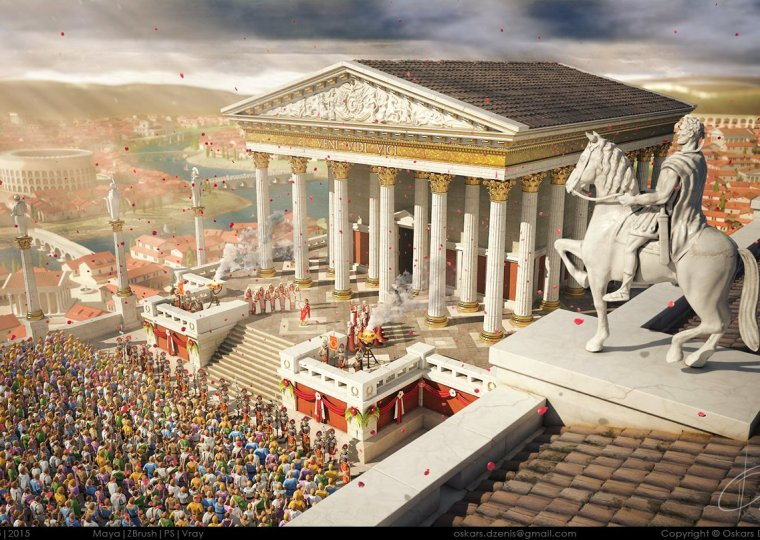 oskars-dzenis-blessed-by-the-gods-ancient-rome-competition