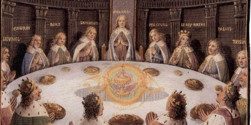 Les chevaliers de la table ronde : apparition du Graal
