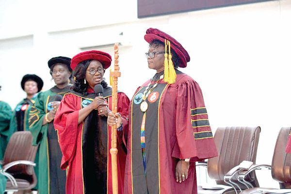 Ghana College of Nurses and Midwives inducts new President