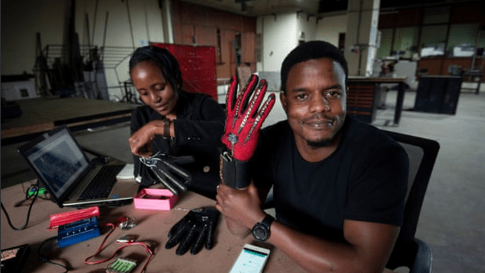 Meet 25-year-old Kenyan who has invented a smart gloves