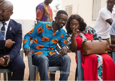 PHOTO OF THE WEEK: What is Tourism minister showing NAM1?