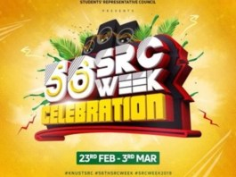 KNUST: Check out activities for SRC 56TH WEEK CELEBRATION