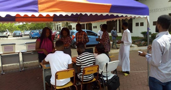 LEGON: Level 200 Political Science student wins Kwapong Hall JCR Presidential elections