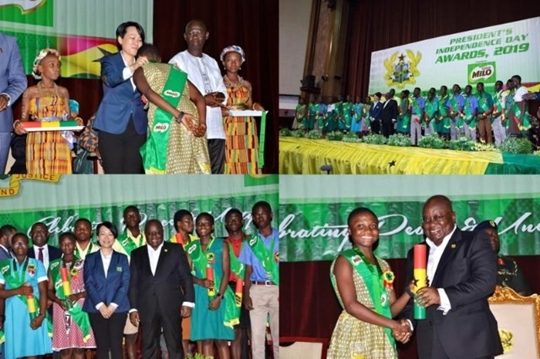 Nestle Milo rewards brilliant Ghanaian students