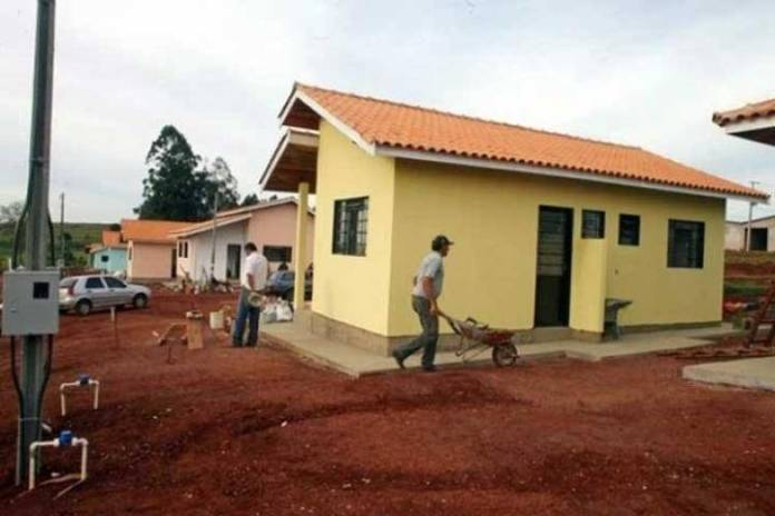 A brazillian church uses tithe to build houses for its poor and homeless members.