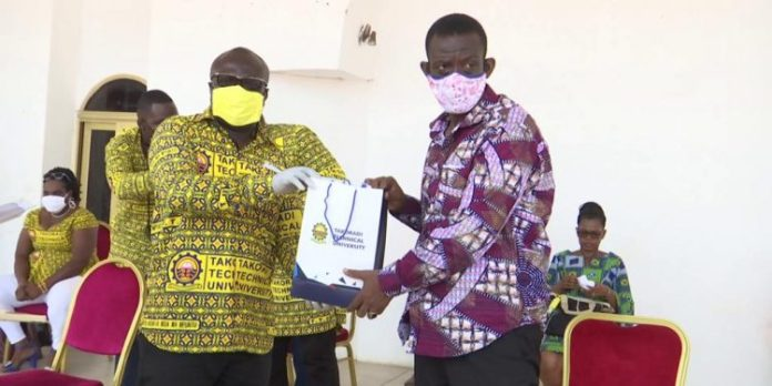 Takoradi Technical University supports COVID-19 fight with 10,000 face masks