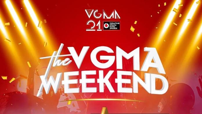 Vodafone Ghana Music Awards 2020 comes off this weekend