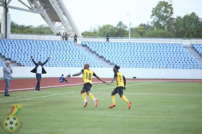 See Andre Ayew's amazing second goal for the Black Stars against Sudan [VIDEO]