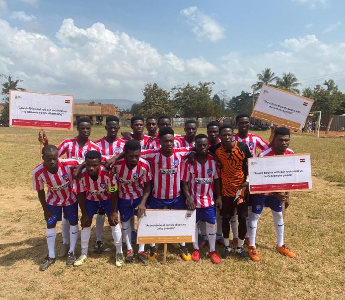 Our Roots Foundation organizes football tournament for youth in Fanteakwa South