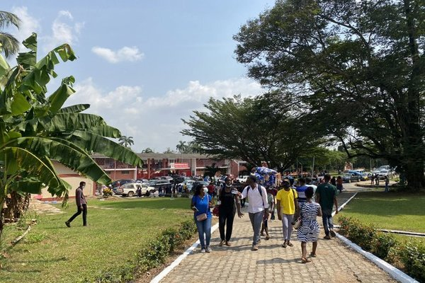 KNUST freshmen's arrival on campus