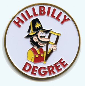 Shriner hillbilly degree emblem.  Click to enlarge.