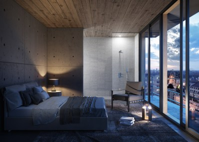 rendering-3d-interni-bedroom-night-light