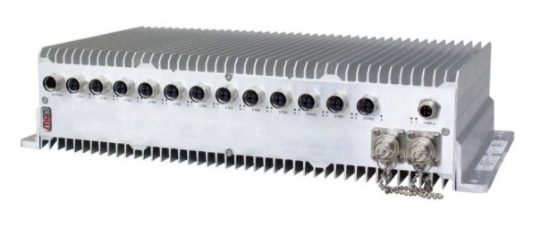 An example of an Ethernet switch that can be used in harsh rail environments