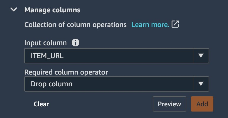 exploratory data analysis feature engineering and operationalizing your data flow into your ml pipeline with amazon sagemaker data wrangler 8 hyperedge embed image