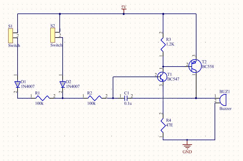 PCB schemtic diagram