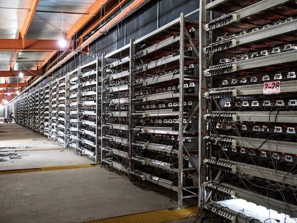 Some of the largest cryptocurrency mining farms are based in China