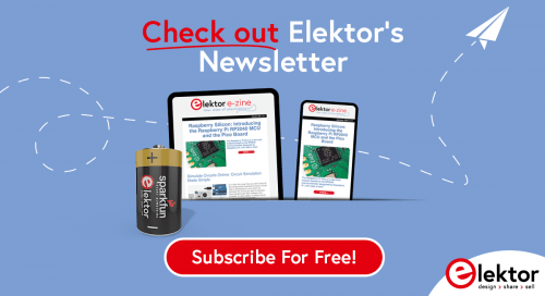 newsletter from our friends at elektor hyperedge embed image