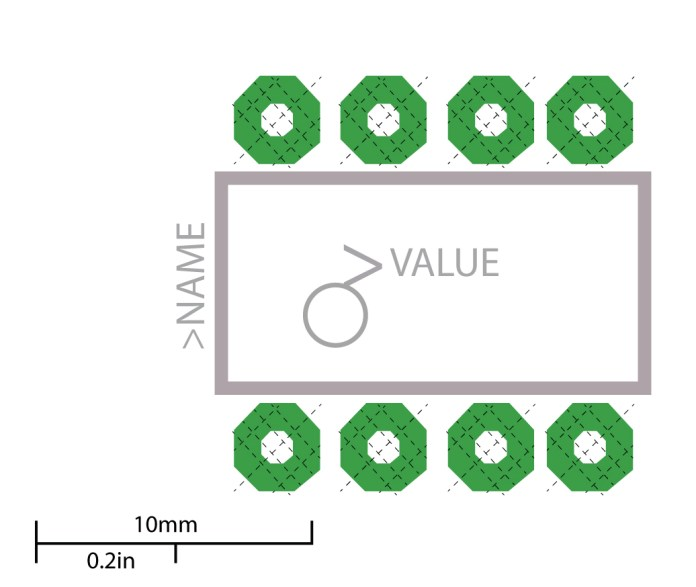 Through-hole pads in PCB design