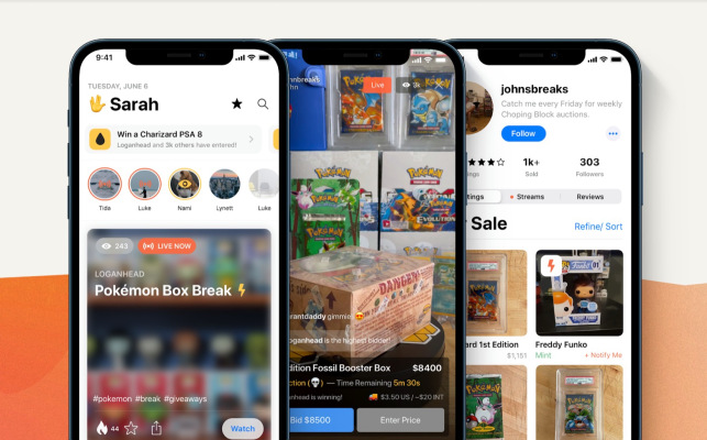 whatnot raises 20m for its live streaming platform built for selling pokemon cards and other collectibles hyperedge embed image