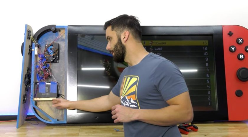 arduino helps control the worlds largest nintendo switch 1 hyperedge embed image