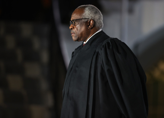clarence thomas plays a poor devils advocate in floating first amendment limits for tech companies hyperedge embed image