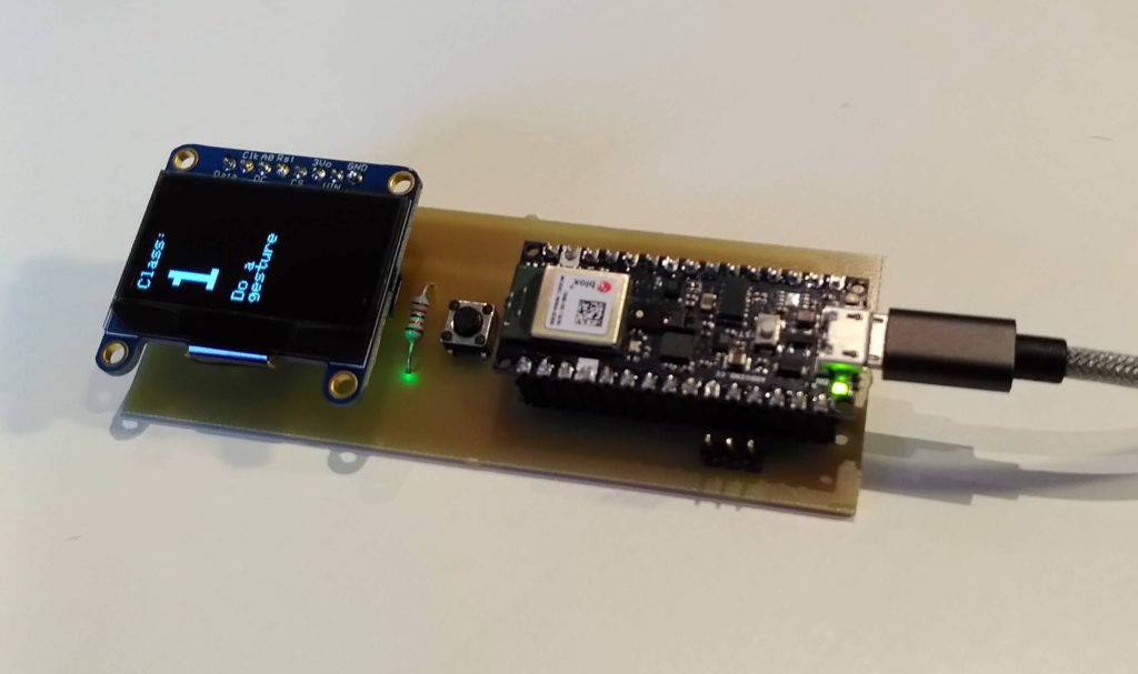 Fraunhofer IMS Arduino Nano with Gesture Recognition
