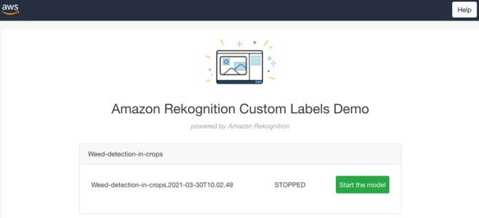 automate weed detection in farm crops using amazon rekognition custom labels 8 hyperedge embed image