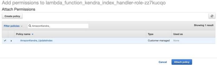 automatically scale amazon kendra query capacity units with amazon eventbridge and aws lambda 6 hyperedge embed image