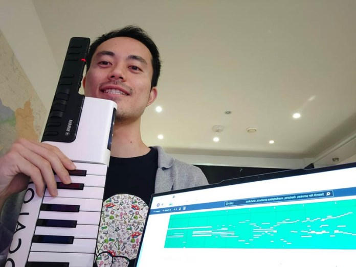 learn how the winner of the aws deepcomposer chartbusters keep calm and model on challenge used transformer algorithms to create music 2 hyperedge embed image