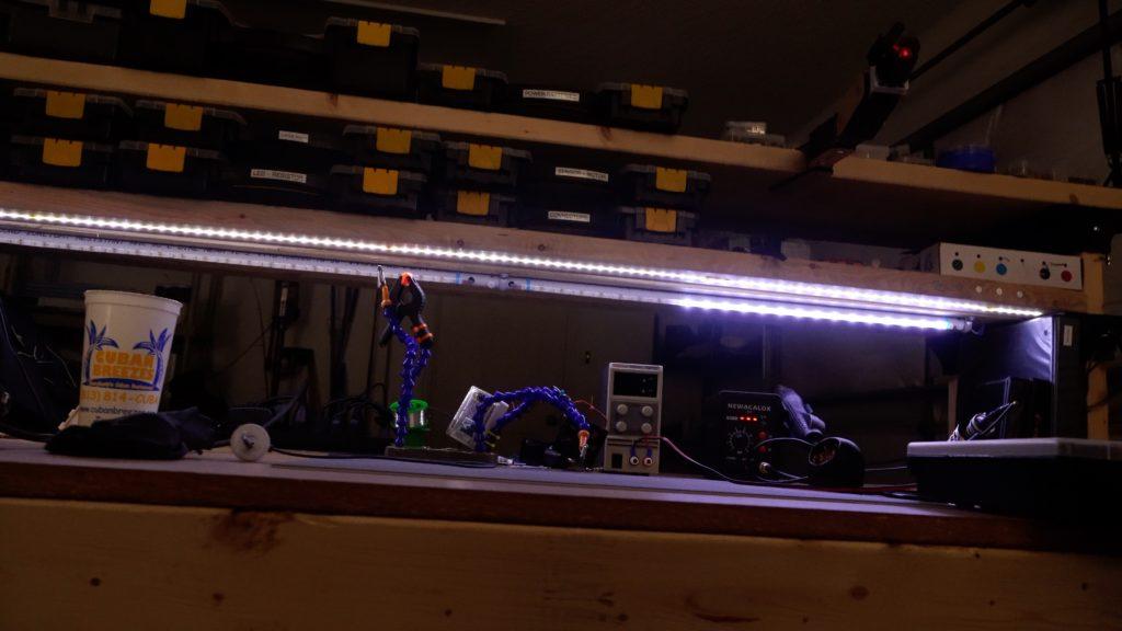 pir sensors automatically light up workbench zones hyperedge embed