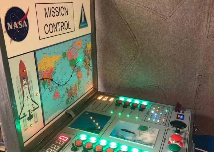 this diy shuttle mission control box looks like a blast 1 hyperedge embed image
