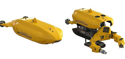 automated arm for underwater tasks