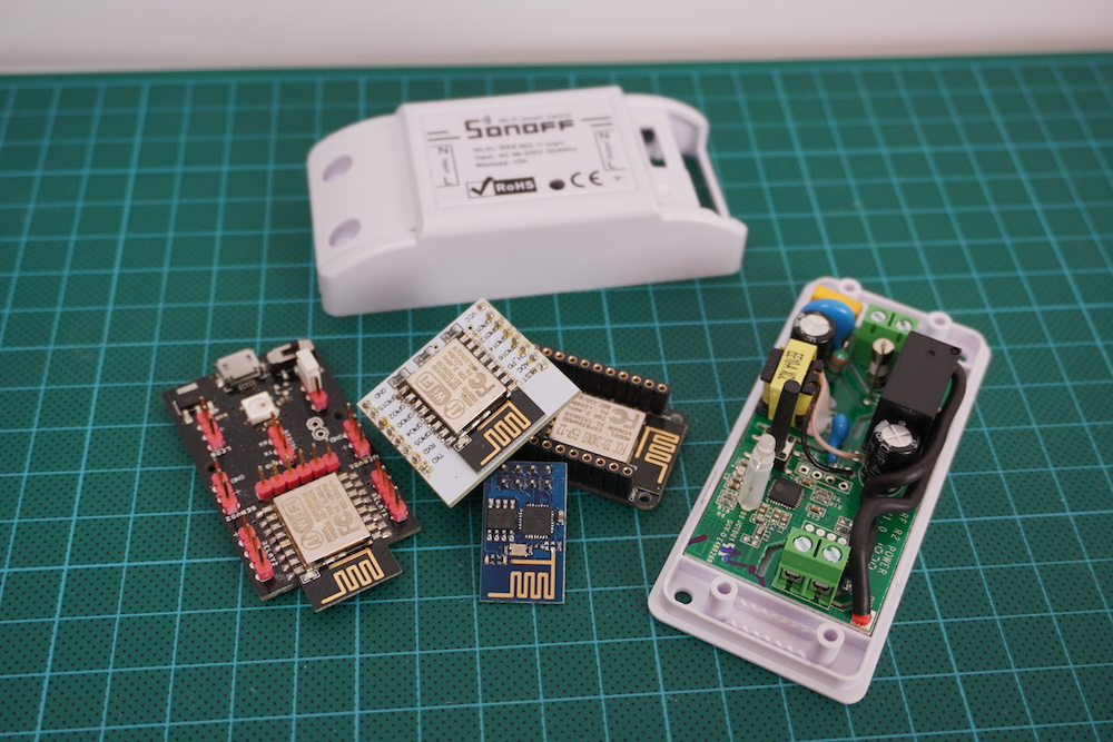 Arduino Cloud also supports ESP8266 and ESP32