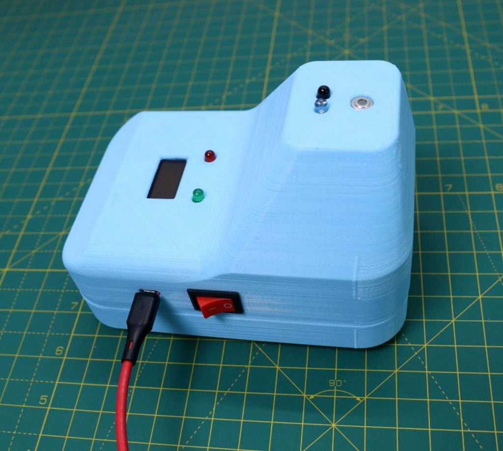 create your own low cost contactless ir thermometer with arduino 1 hyperedge embed
