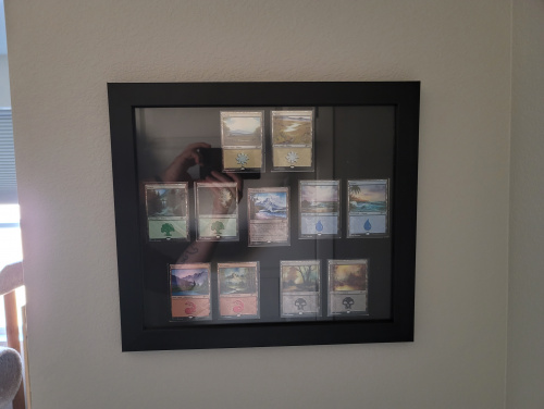 Complete and mounted