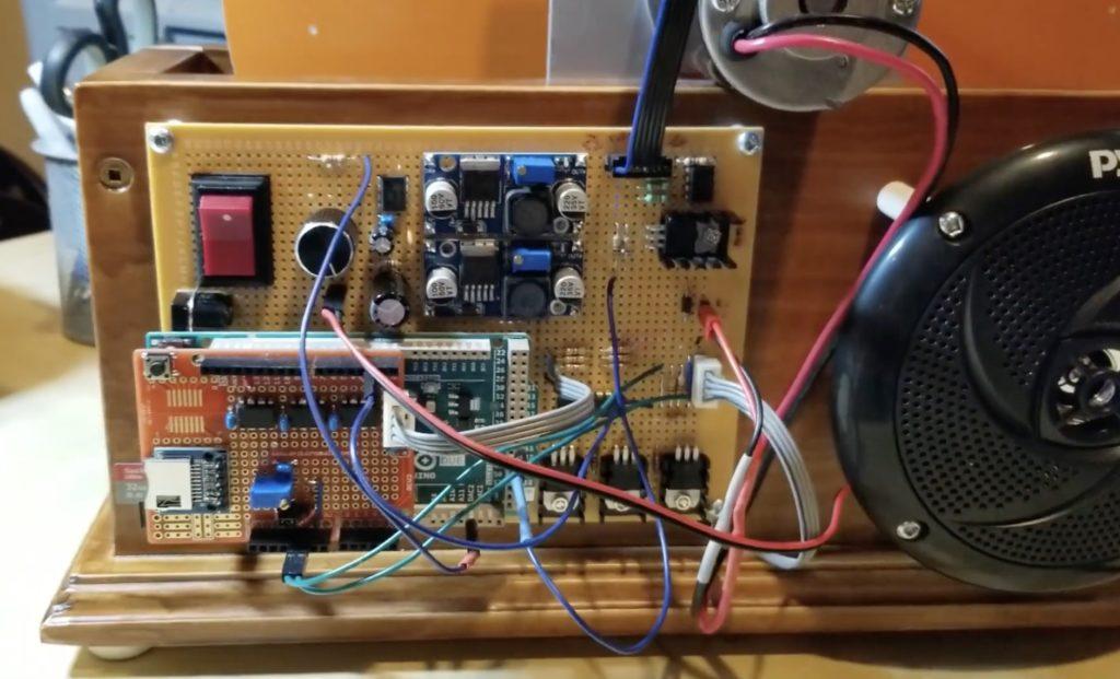 homemade mechanical color tv runs on an arduino due 1 hyperedge embed image