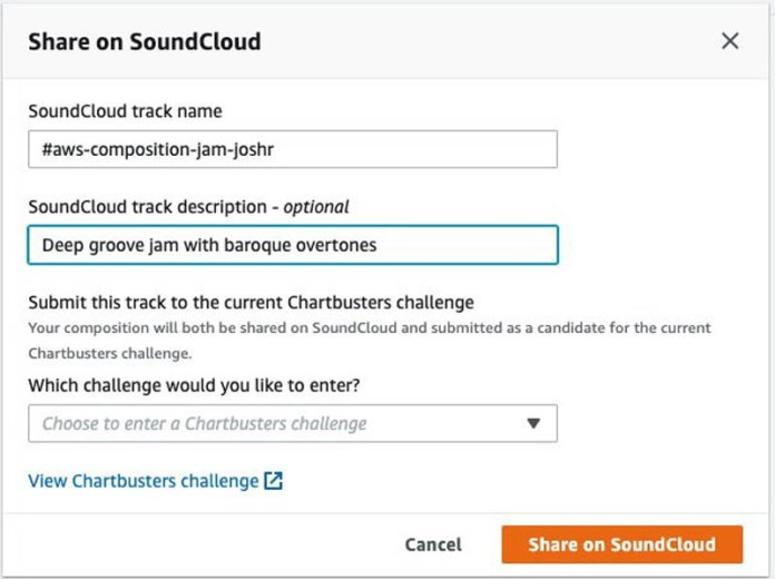 how to run an ai powered musical challenge aws deepcomposer got talent 4 hyperedge embed image