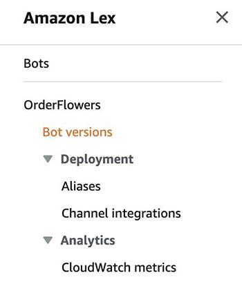 interact with an amazon lex v2 bot with the aws cli aws sdk for python boto3 and aws sdk for dotnet 5 hyperedge embed image