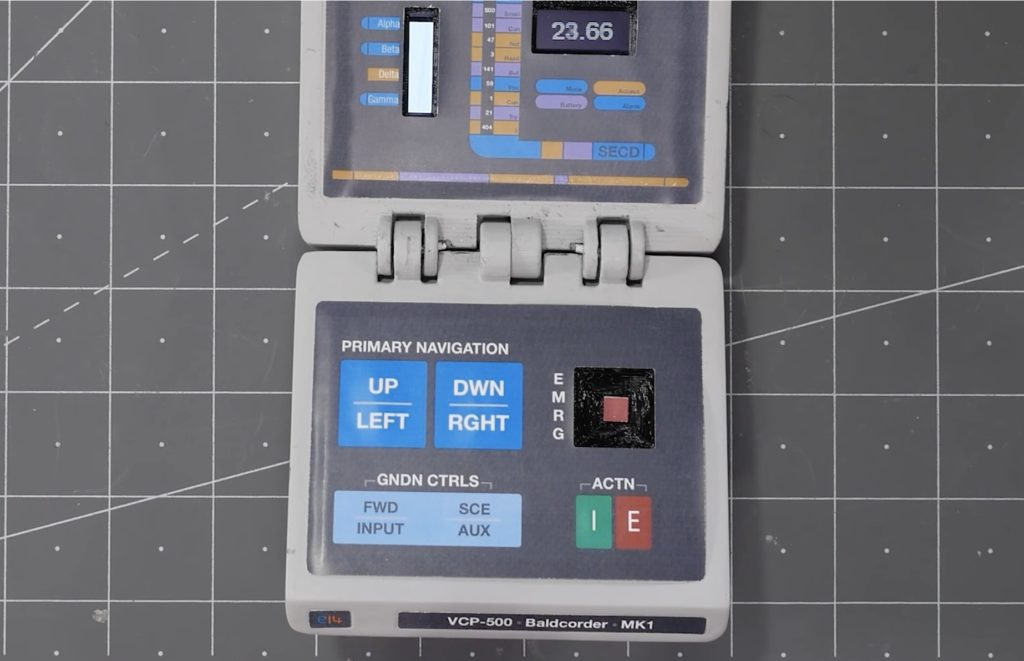 the baldcorder is james lewis tricorder like device for measuring light levels and temperature hyperedge embed image
